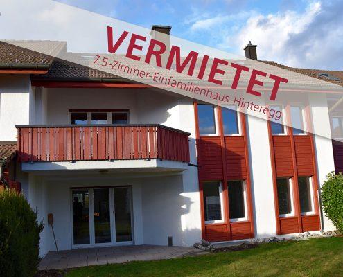 Einfamilienhaus_Vermietet Hinteregg