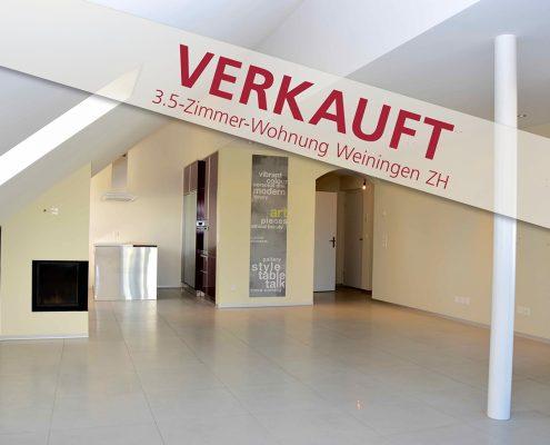schöne 3.5-Zimmerwohnung in Weiningen