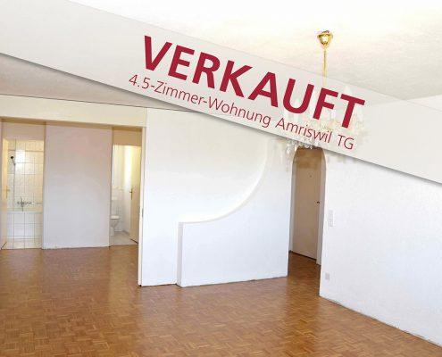 schöne 4.5-Zimmerwohnung im Amriswil Thurgau zu verkaufen