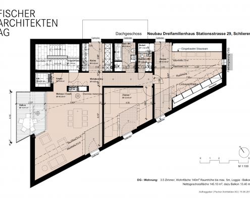 Grundriss-3-5-Zimmerwohnung-Schlieren-schöne-Dachwohnung